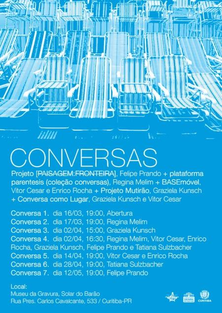 Cartaz - Convite CONVERSAS (Web)